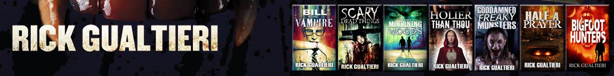 Urban Fantasy Author Rick Gualtieri