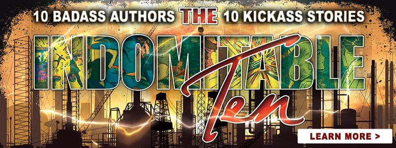 The Indomitable Ten - superhero/supervillain anthology