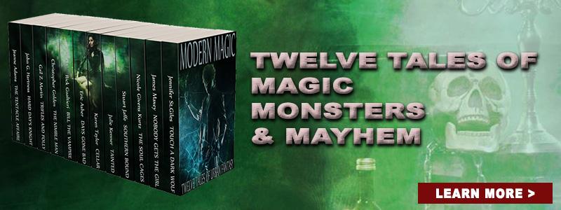 Moder Magic - Twelve Tales of Urban Fantasy