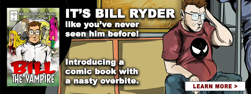 Bill The Vampire - The Comic book
