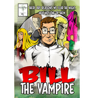 Bill The Vampire Comic Book 1