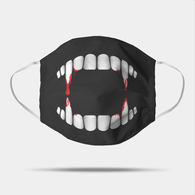 Fangs Face Mask